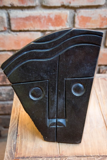 RICHARD MTEKI - DIFFERENT FACES - Zimbabwe stone sculpture