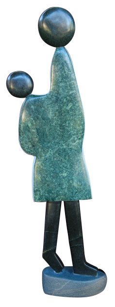 Famous stone sculpture - Zimbabwe stone shona sculpture