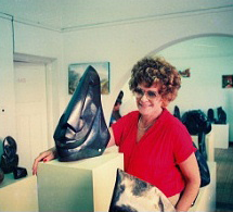 Janet Suzman and her artwork
