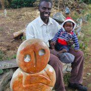 Freddy Mariga - Zimbabwe stone sculpture