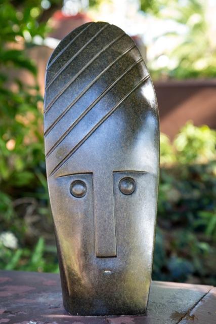 Henry Munyaradzi - Another Time - Zimbabwe stone sculpture